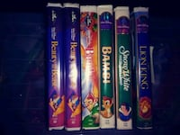 assorted Disney movie DVD cases Gaithersburg, 20877