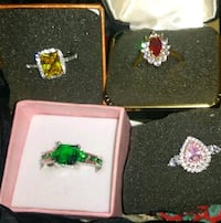 Sterling silver rings your choice 40 each Wayne County, 28333