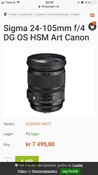 Sigma 24-105 for canon Rådal, 5236