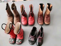 Variety of toddler boots Reno, 89521