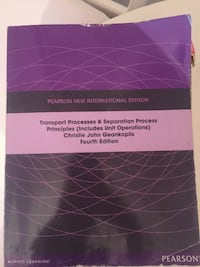 Transport Processes & Separation Process Principles 4th Edition İstanbul