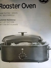 GE Roast oven 21 inch Lakewood Township, 08701