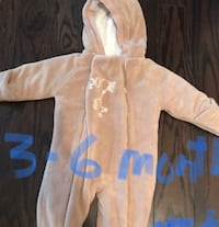 3-6 months baby winter suit  used once Hamilton, L9C 0C1