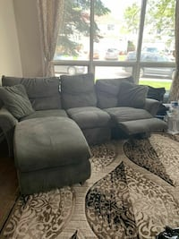 LAZYBOY SECTIONAL + RECLINER CHAIR. FREE DELIVERY  Edmonton, T6H 3Z7