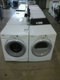 Whirlpool duet washer dryer set LIKE NEW tested  Englewood, 80110