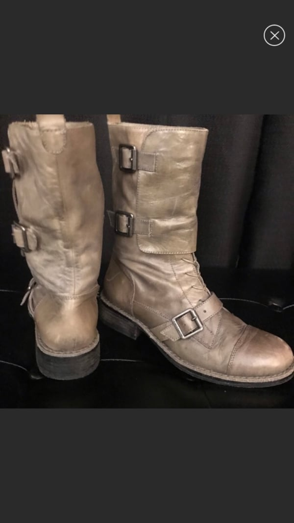 Vince Camuto leather Boots size 7 be21ca2a-7e86-46a4-993d-dc8ddf53f335