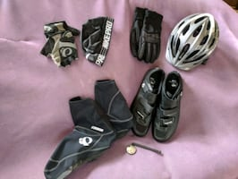 Men's cycling gear, all items XL or XXL, like new