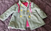 Girls size 3T coat with matching hat Elgin, 60124