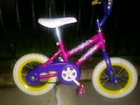 toddler's pink and purple bicycle Brooklyn, 11214