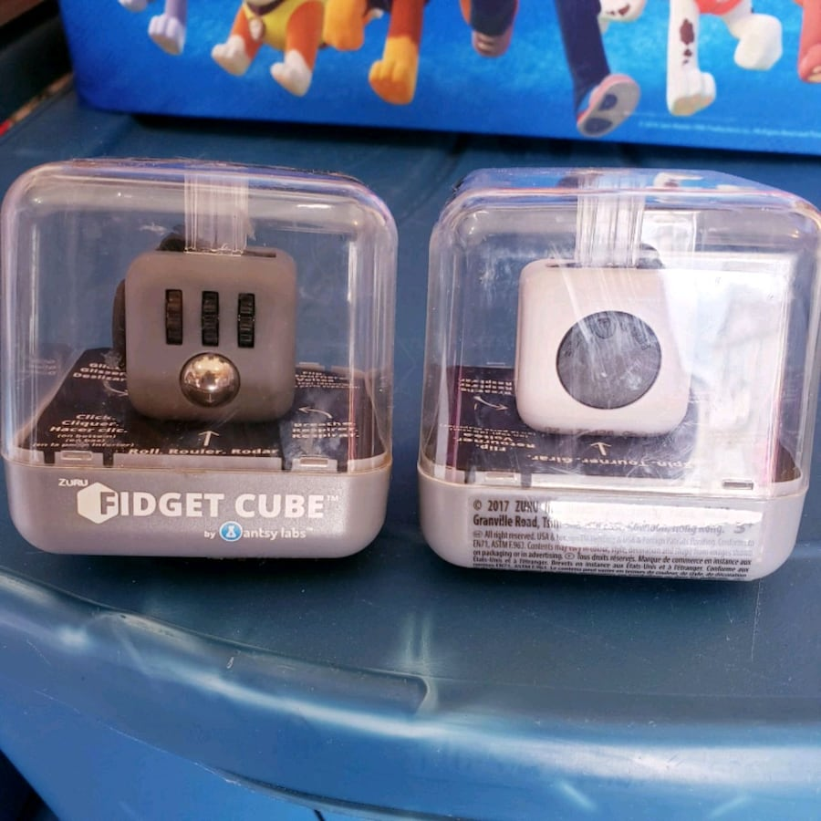 Fidget cubes new both for 3