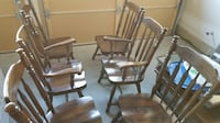 6 dining room chairs for sale null