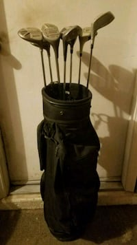 golf bag & 8 metal woods Henderson, 89014
