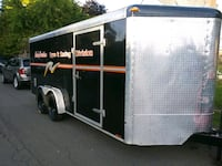18 ft V nose enclosed trailer Vancouver, 98663