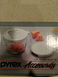 Pyrex grater and measuring cup Washington, 20008