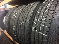 Matching set (4) Firestone LT 245 75 17 tires for only $170 with free installation included  Tacoma, 98444