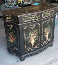 Hand Painted Solid Wood Table/Chest Virginia Beach, 23456