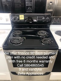 like new electric stove stainless steel coil top Kenmore Warren, 48089