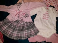Left to right  [TL_HIDDEN]  months girl clothes  Anchorage, 99508