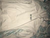 white adidas crew-neck shirt 563 km