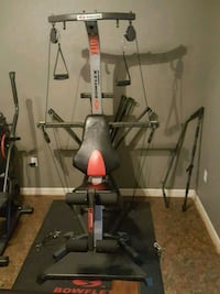 gray and black Bowflex exercise equipment Little Rock