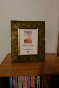 brown wooden framed painting of flowers Oshawa, L1G 6T2