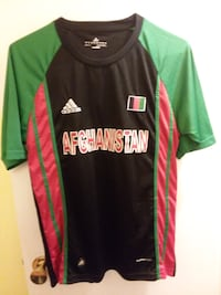 green and black Adidas crew-neck shirt Washington