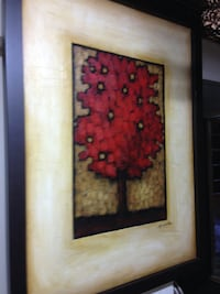 Framed Oil painting on canvas Toronto