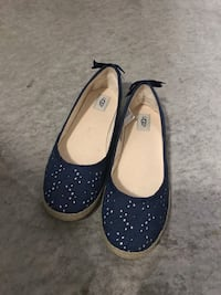 UGG flat blue navy  Richmond, V6V 1B7