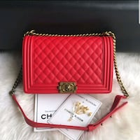 CHANEL '16 OLD MEDIUM BOY BAG IN CAMEL CAVIAR Upper Marlboro, 20772