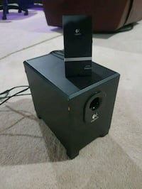 Mini Subwoofer and Controller.