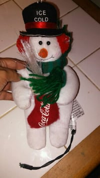 white and red bear plush toy Los Angeles, 90744