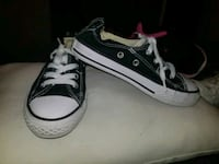 pair of black Converse All Star low-top sneakers