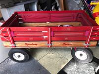 Retail price is $578 close to $600 with taxes I made a mistake on my last posting of this item my price of this  item is $250 it had added padding for kids and needs to be cleaned nothing major wagon is in great condition