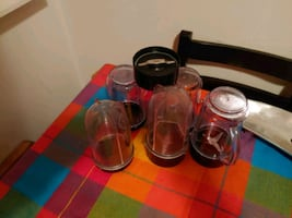 Free Magic Bullet containers (only the containers!)