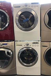 LG washer and dryer set excellent conditions