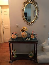 Console table and mirror Ashburn, 20147
