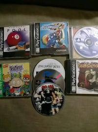 Eight PS1 games