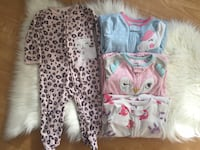 Carter's baby girl pjs (9mos) Mississauga, L5A 2V2