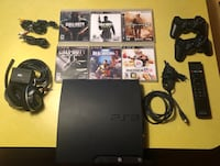 120GB PS3 with accessories and Games Arlington, 22204