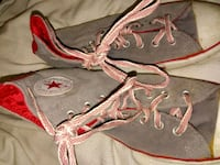 Red and gray converse all stars (never worn) Nashville, 37219
