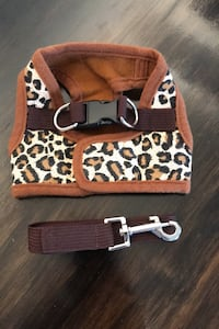 Small breed Leopard Dog harness and leash Mississauga, L5A 3B2