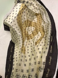 100% silk Chanel scarf made in Italy. Perfect for gift Manassas, 20110