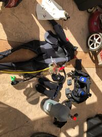 Full scuba Gear - size small , all included Salinas, 93905