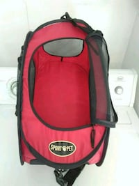red and black pet carrier 20 lb. Palm Bay, 32909