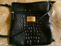 Marc Fisher GenuineCrocodile embossed Leather Cross Body bag/purse  Folsom