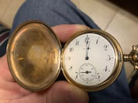 Early 1900's ELGIN Pocket Watch Sparrows Point, 21219