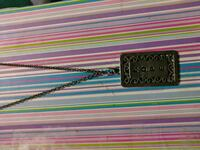 Silver long chain hope necklace  Temple, 76501