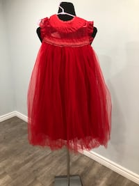 BNWT red lace bodies and tulle baby girl dress sizes 7 Keswick, L4P 3P2