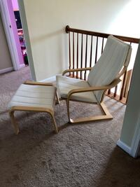 Arm chair and leg rest combo Aldie, 20105