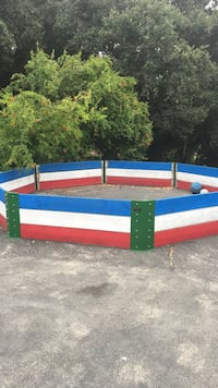 Coach Cliff's Gaga pit complete